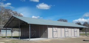 Gable Horse Barn
